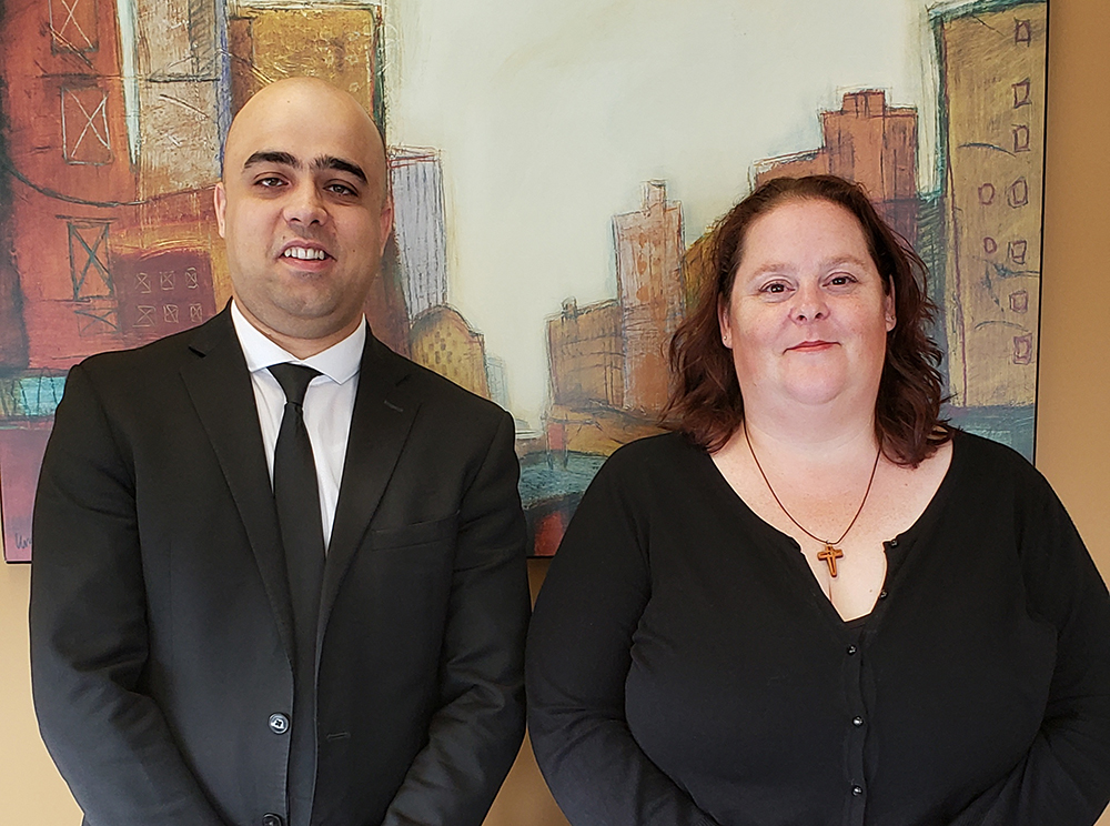 photo of Sangin (Sam) Safi and Jennifer Simon of Safi Law Group in Edmonton